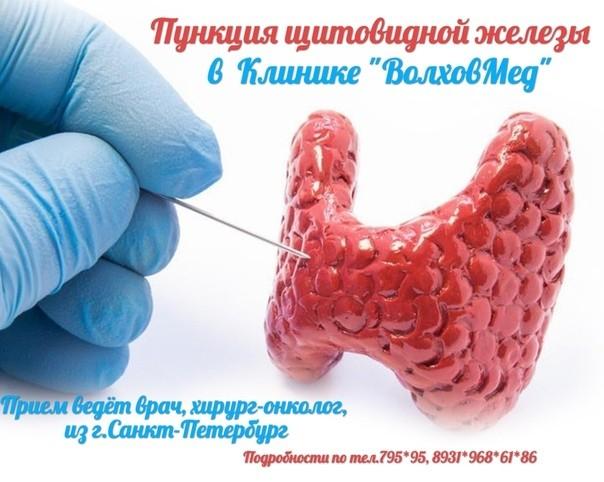 Новая услуга – пункция щитовидной железы